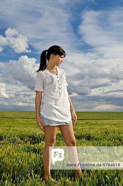Fröhlichkeit  Mädchen  Aragonien  hübsch  Spanien