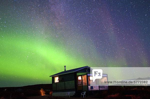 Wohnhaus Polarlicht Aurora