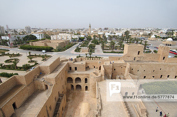Ribat  fortification  Sousse  Tunisia  Africa