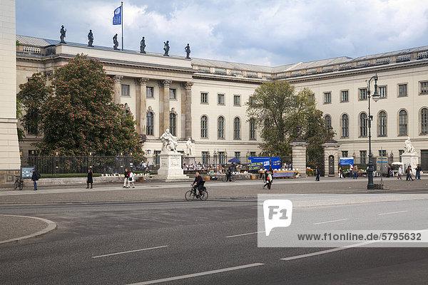 Humboldt Universität  Berlin  Deutschland  Europa