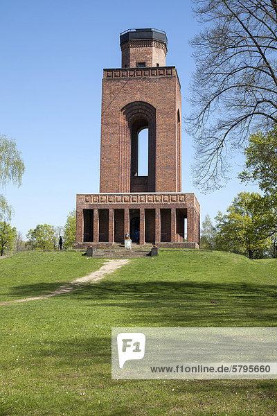 Bismarck-Turm  Burg  Spreewald  Brandenburg  Deutschland  Europa