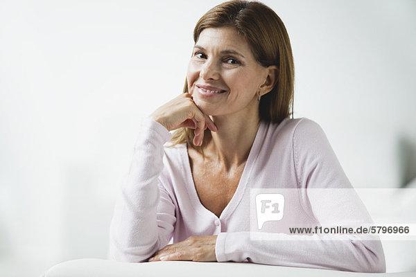 Reife Frau  Portrait