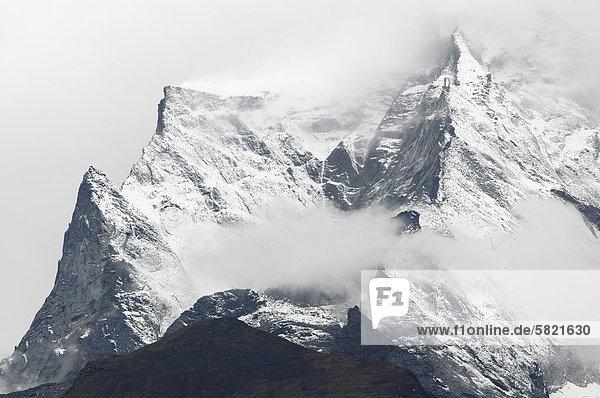 Kongde Ri-Gebirge in Nepal Kongde Ri-Gebirge in Nepal