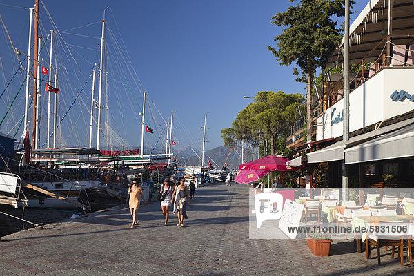 Hafen Fethiye Mittelmeer Türkei lykischen Küste Hafen,Fethiye,Mittelmeer,Türkei,lykischen Küste