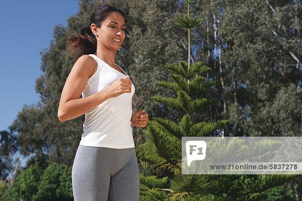 Frau  rennen