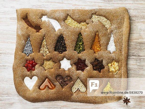 Symbol Weihnachten Lebkuchen
