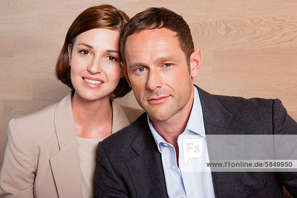 Mittleres erwachsenes Paar  Portrait