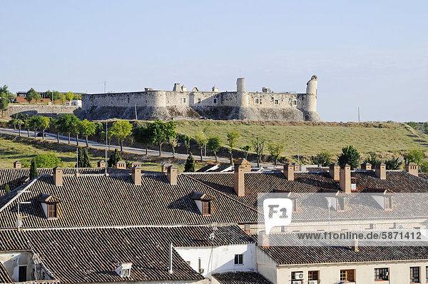 Castillo  Burg  Chinchon  Spanien  Europa  ÖffentlicherGrund