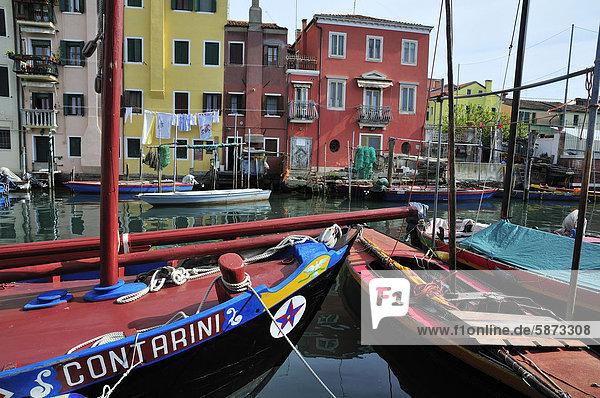 Europa Boot Venetien Chioggia Italien