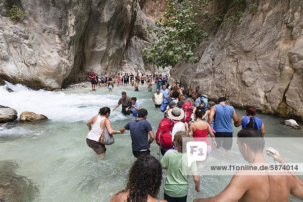 nahe Wasser gehen Tourist Schlucht Fethiye Türkei lykischen Küste nahe,Wasser,gehen,Tourist,Schlucht,Fethiye,Türkei,lykischen Küste