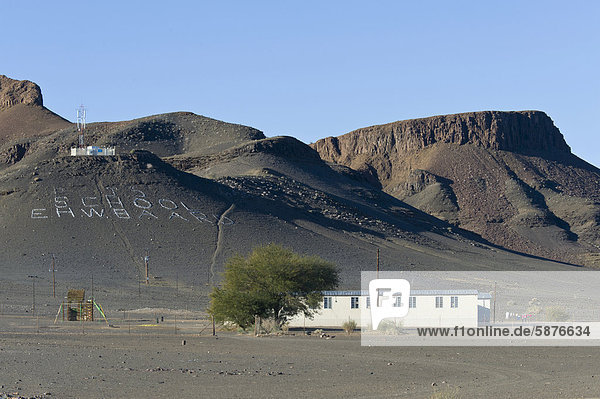leer Landschaft Schule (Einrichtung) Afrika Öde