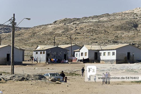 Gebäude Namibia Wohnsiedlung Afrika Lüderitz