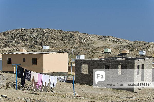 Gebäude Namibia Wohnsiedlung Afrika Lüderitz neu