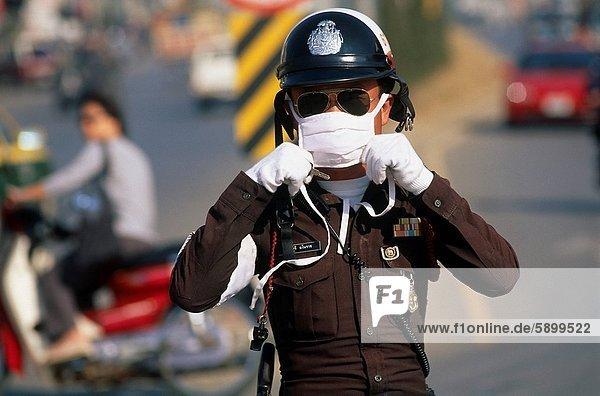 Bangkok  Hauptstadt  schmutzig  Thailand  Straßenverkehr