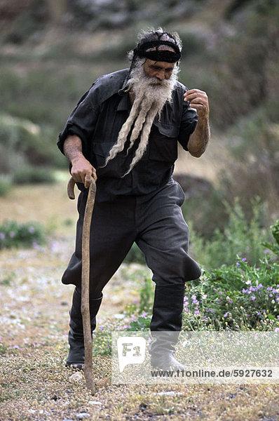 Senior  Senioren  Spazierstock  Stock  Mann  gehen