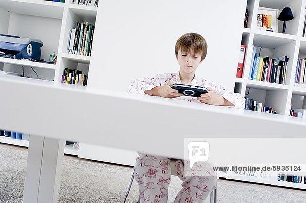 Junge - Person Spiel Camcorder spielen