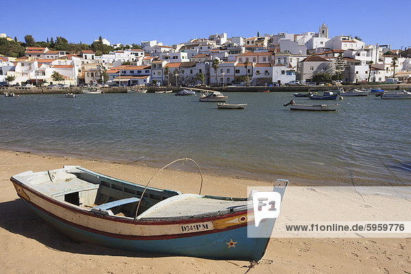 Ferragudo  Algarve  Portugal  Europa