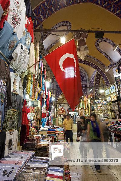 Großer Basar (Kapali Carsi)  Istanbul  Türkei  Europa