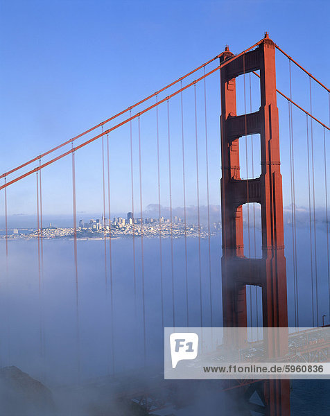 The Golden Gate Bridge  San Francisco  California  United States of America  North America