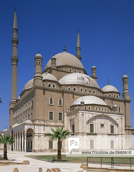 The Mohammed Ali Mosque  Cairo  Egypt  North Africa  Africa