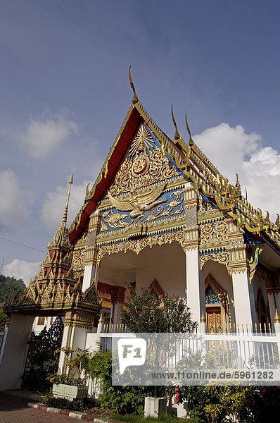 Wat Puttamongkon Tempel  Phuket  Thailand  Südostasien  Asien