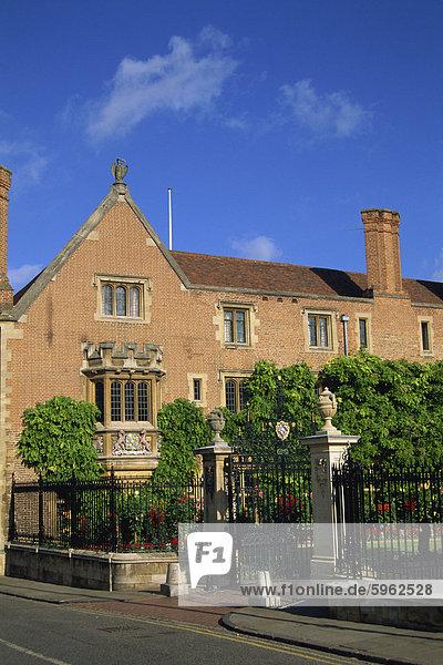 Magdalene College in Cambridge  Cambridgeshire  England  Vereinigtes Königreich  Europa