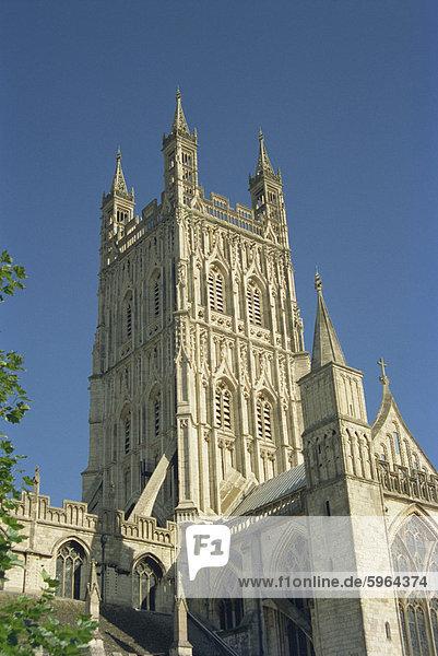Gloucester Kathedrale von Gloucester  Gloucestershire  Deutschalnd  Vereinigtes Königreich  Europa