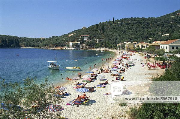 Europa Korfu Griechenland Griechische Inseln Ionische Inseln