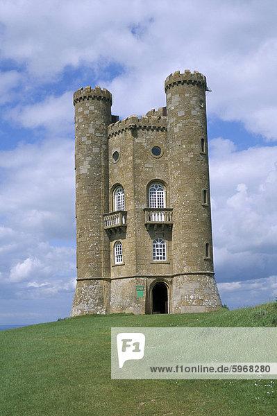 Broadway Tower  Broadway  Worcestershire  Cotswolds  England  Vereinigtes Königreich  Europa
