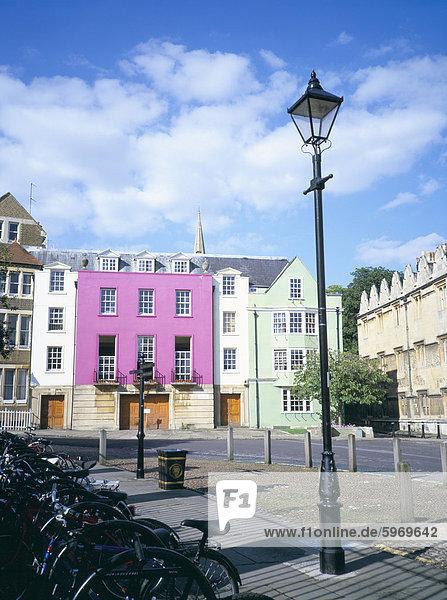 Oriel-Square  Oxford  Oxfordshire  England  Vereinigtes Königreich  Europa
