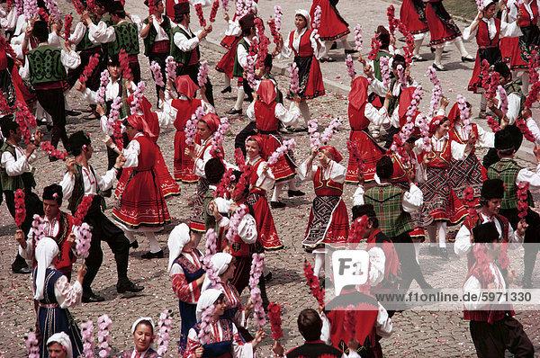 Rose Festival  Bulgarien  Europa