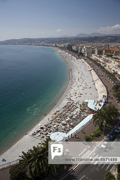 Nice  Alpes Maritimes  Provence  Cote d'Azur  French Riviera  France  Mediterranean  Europe