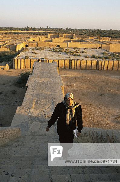 Ruinen der Tempel  Agargouf  Irak  Naher Osten