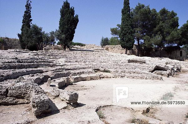 Römisches Theater  Alcudia  Mallorca  Balearen  Spanien  Europa