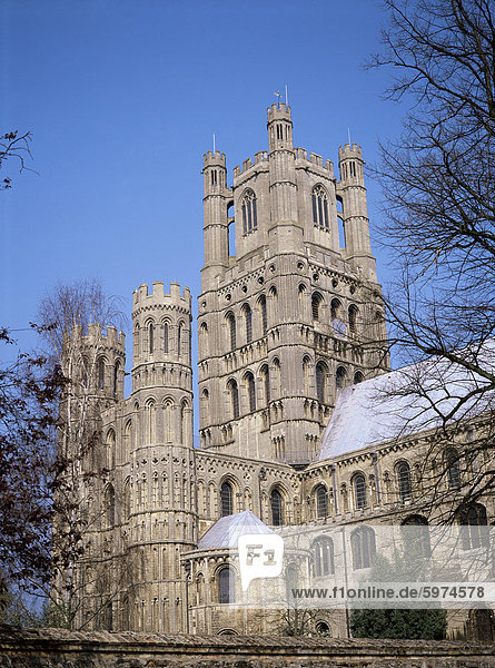Südwestliche Querhaus  Ely Cathedral  Ely  Cambridgeshire  England  Vereinigtes Königreich  Europa