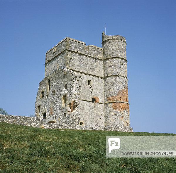 Donnington Castle  ein English Heritage-Eigenschaft  Berkshire  England  Vereinigtes Königreich  Europa