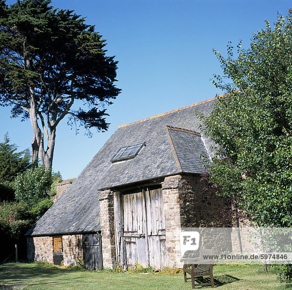 Zehntscheune  Dunster  Somerset  England  Vereinigtes Königreich  Europa
