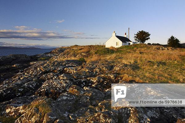 Europa Ostküste Großbritannien Isle of Mull Schottland