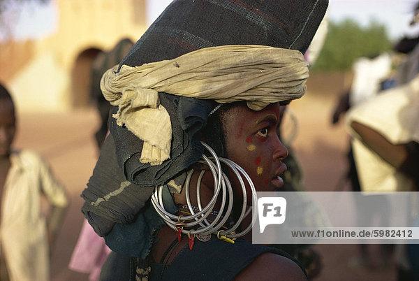 Frau Filingué  Niger  Afrika