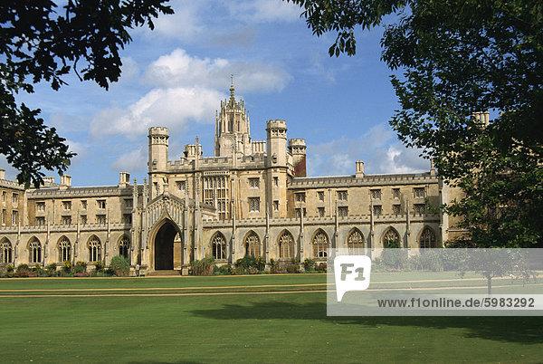 Neue Gericht in St. Johns College  Cambridge  England  Vereinigtes Königreich  Europa