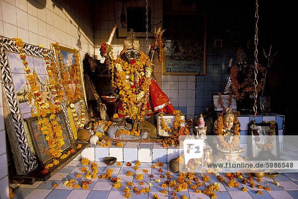 Kali  Hindu-Göttin der Zerstörung  Totem  Indien  Asien