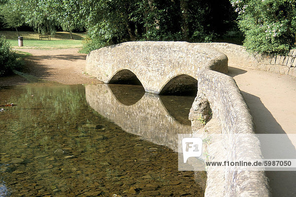 Gallox Brücke (Eigenschaft von English Heritage)  Dunster  Somerset  England  Vereinigtes Königreich  Europa