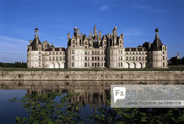 Château de Chambord  Loire-Tal  UNESCO-Weltkulturerbe  Loir-et-Cher  Centre  Frankreich  Europa
