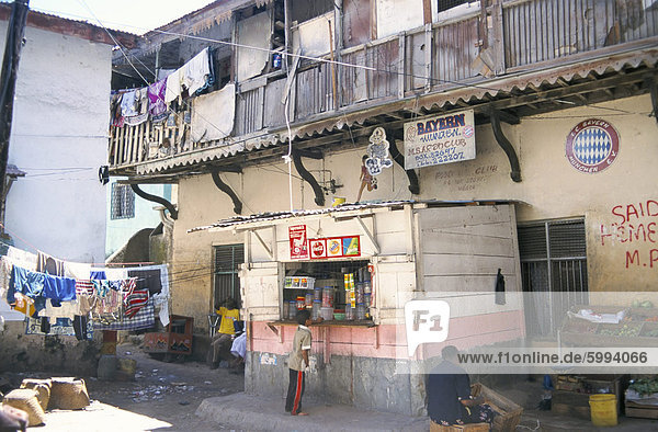 Alte Stadt  Mombasa  Kenia  Ostafrika  Afrika