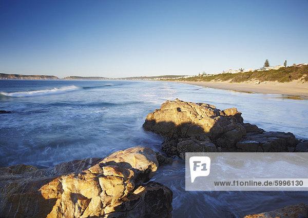 Am frühen Morgen in Plettenberg Bay  Western Cape  Südafrika  Afrika