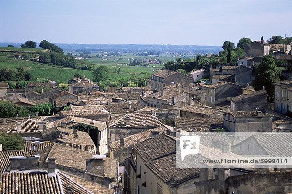 St. Emilion  Aquitaine  Frankreich  Europa