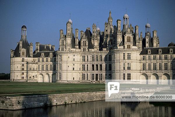 Château de Chambord  UNESCO-Weltkulturerbe  Loir-et-Cher  Loire-Tal  Centre  Frankreich  Europa