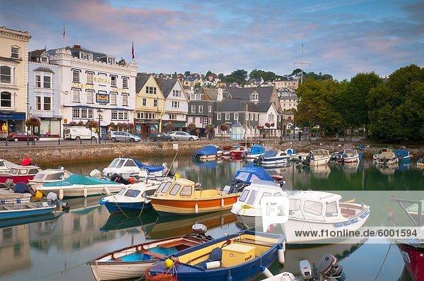 Das Quay  Dartmouth  Devon  England  Vereinigtes Königreich  Europa