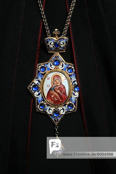 Des christlichen Patriarchen Jungfrau Maria Medaille  Paris  Frankreich  Europa