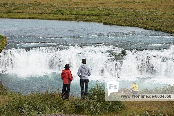 Gullfoss waterfall  Iceland  Polar Regions
